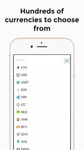 Shikari - Cryptocurrency Calculator and Converter  screenshots 4