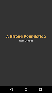 A Strong Foundation- screenshot thumbnail