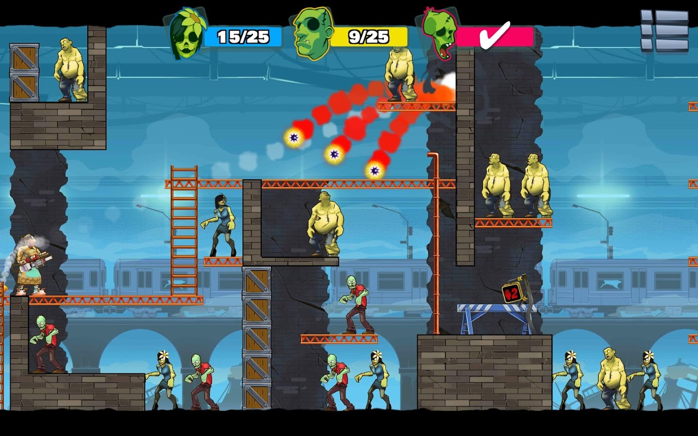 Screenshots of Stupid Zombies 3 for iPhone