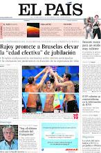 """Photo: Rajoy promete a Bruselas elevar la """"edad efectiva"""" de jubilación, rescate suave para un otoño muy caliente, el PP culmina su contrarreforma en la información de RTVE y Garzón: """"Soy el último exiliado del franquismo"""", entre los temas de nuestra portada del domingo, 5 de julio de 2012. http://ep00.epimg.net/descargables/2012/08/05/b8abd64317992d23d977652b4d708522.jpg"""