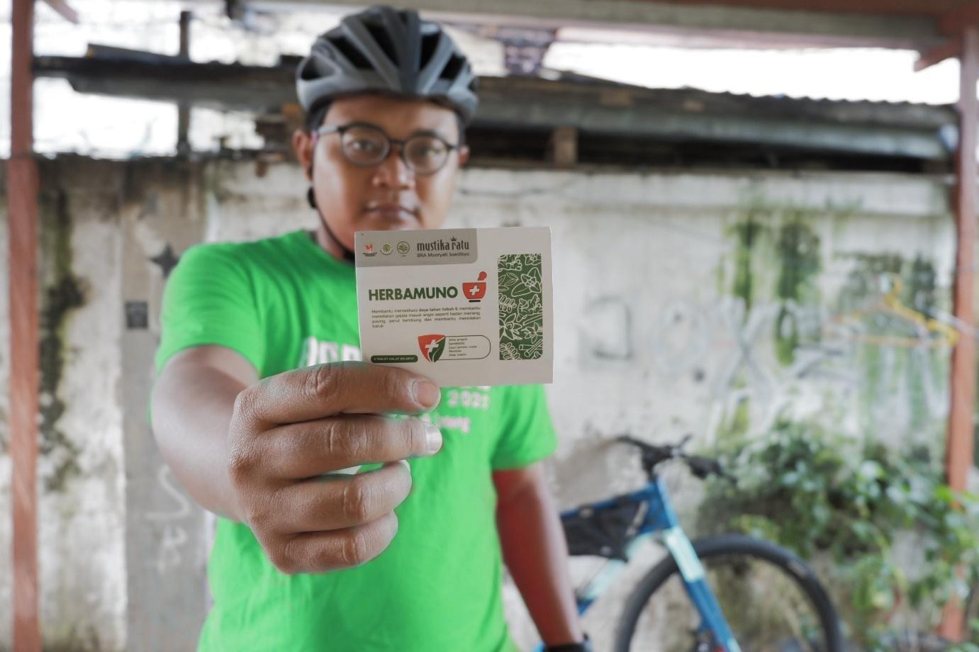 Bersepeda Tanpa Cemas Dengan HERBAMUNO+