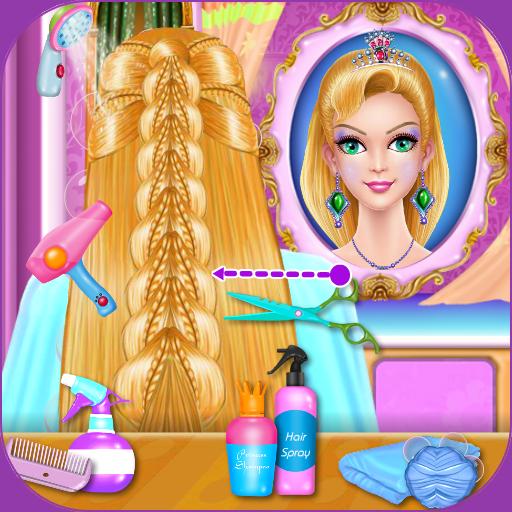 Princess Hairdo Salon Icon