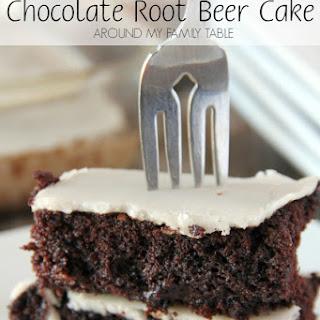 Chocolate Root Beer Cake.