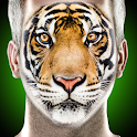 What are you animal face id scanner prank icon