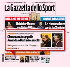 """Photo: Cecere: """"Non ci occupiamo tanto del processo di Napoli perché il penale ci nausea"""". Poi prima pagina per sentenza penale extra-calcio"""