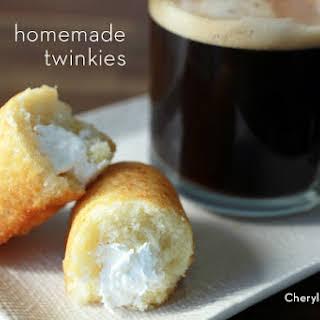 Homemade Twinkies.