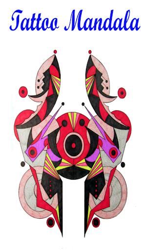 Tattoo Mandala Colouring Book