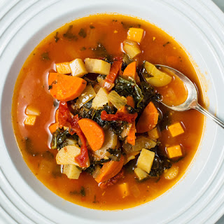 Hearty Winter Vegetable Stew.