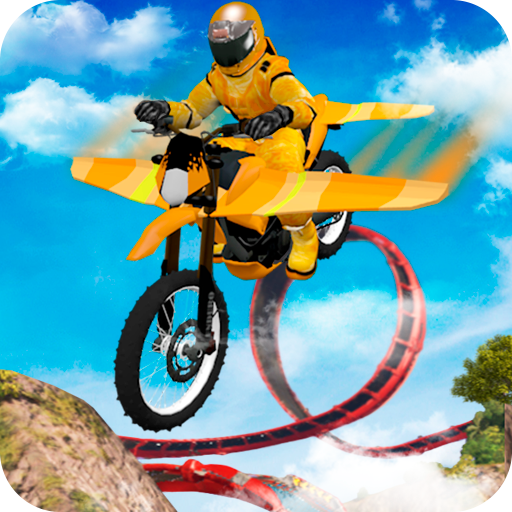 Flying Motorbike Stunts