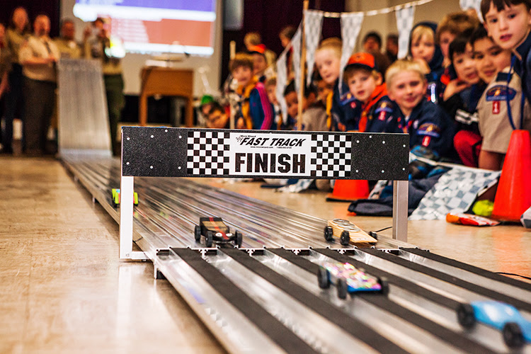 Pinewood Derby 2016
