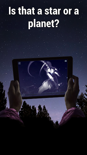 Star Walk 2 Free - Identify Stars in the Night Sky Android App Screenshot