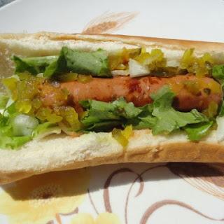 Garden Veggie Hot Dogs