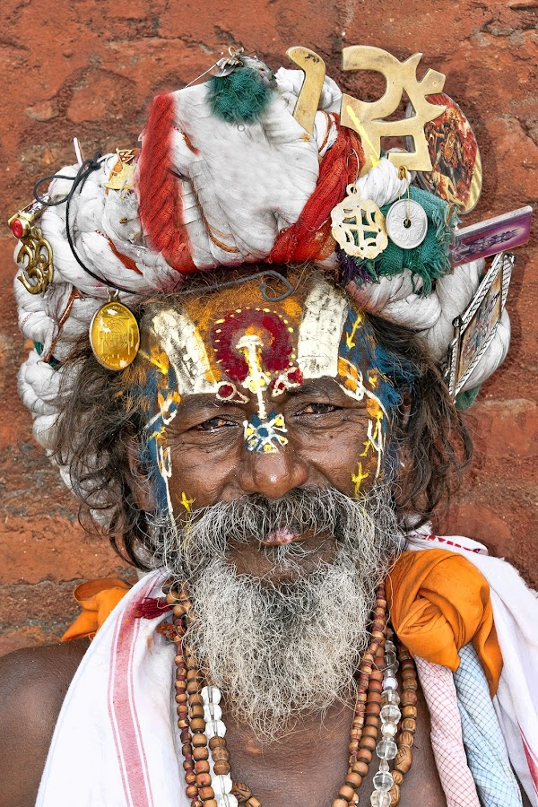 Nepal by Diego Scaglione - People Portraits of Men ( colors, beard, ornaments, man, nepal )