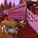 Offroad Farm Animal Driving 2019 : Truck Games 3D APK