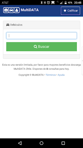 android Alerta Auto Screenshot 0