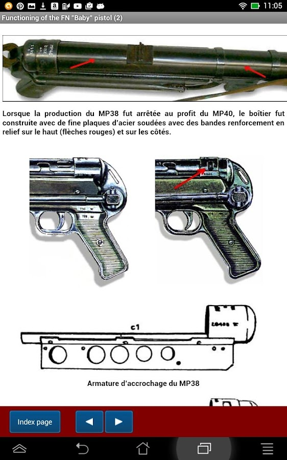 Pistolet mitrailleur MP38-40- screenshot