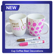 Cup Coffee Best Decorations icon