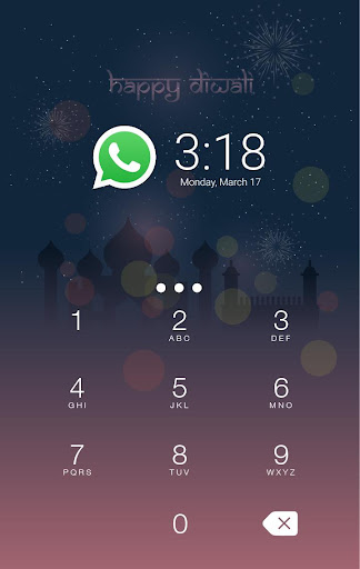 Happy Diwali AppLock Theme screenshot 2