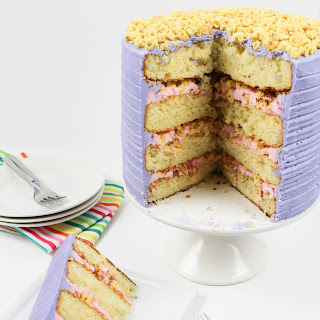 Milk and Cereal Cake.