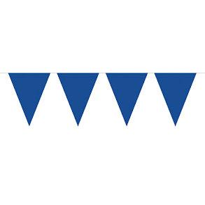 Flaggirlang, 10 m blå
