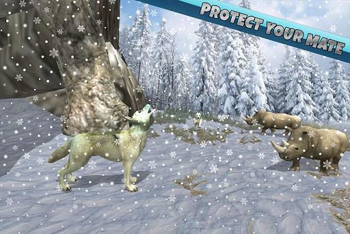 arctic wolf family simulator screenshot 3