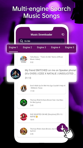 MP3 Music Downloader & Download MP3 Songs cheat hacks