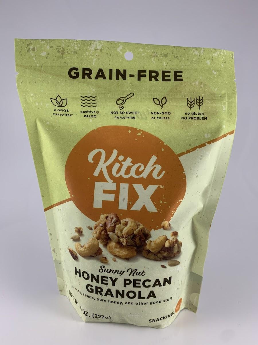 Sunny Nut Honey Pecan Granola