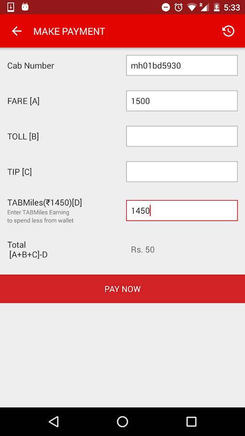 how to make a payment prefered for uber app
