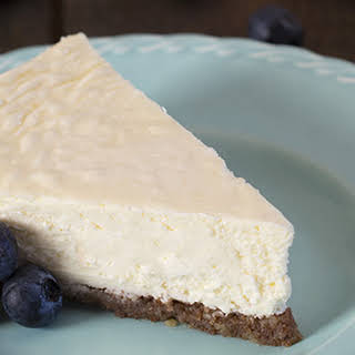Low Carb Cheesecake.
