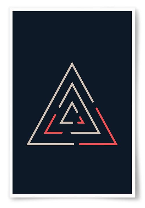 Poster Triángél 2