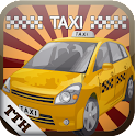 Taxi Driver Traffic 3D icon