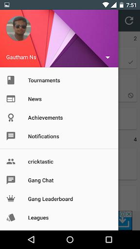Fantasy Cricket 4.0.4 screenshots 2