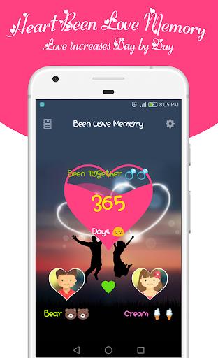 Been Love Memory - Love Counter - Love days 2018  screenshots 2