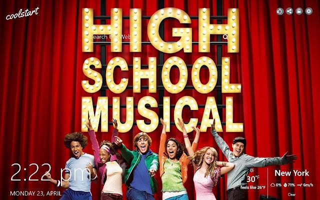 HIgh School Musical HD Wallpapers Theme