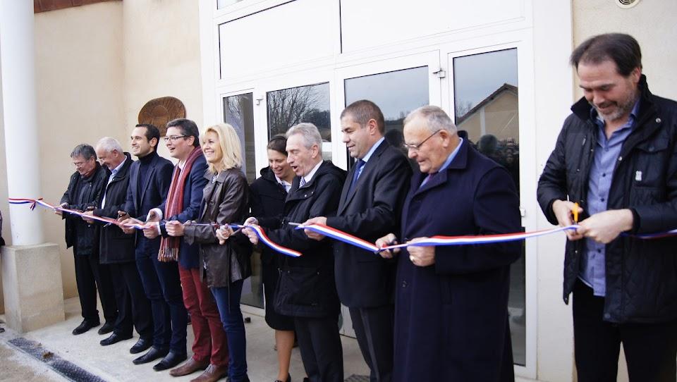 inauguration foyer personnes handicapées L'Arche de la Vallée drome