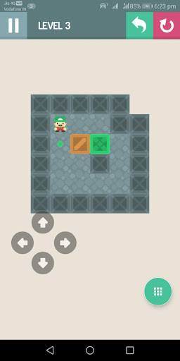 Sokoban puzzle: Pushing the box 2.0 screenshots 2