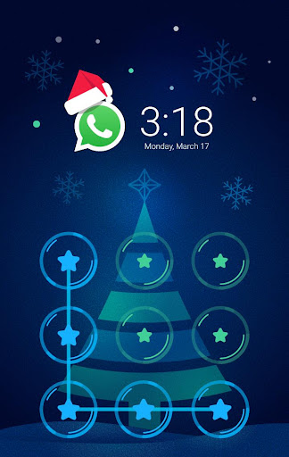 MerryChristmas AppLock Theme screenshot 2
