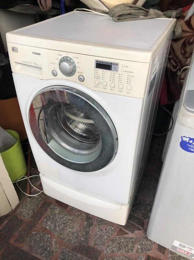 好朋友泰山二手家具泰山二手滾筒洗衣機