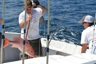 Photo: she did win the prize for biggest fish by the end of the day
