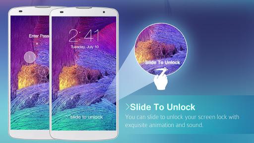 Lock Screen Galaxy Theme screenshot 17