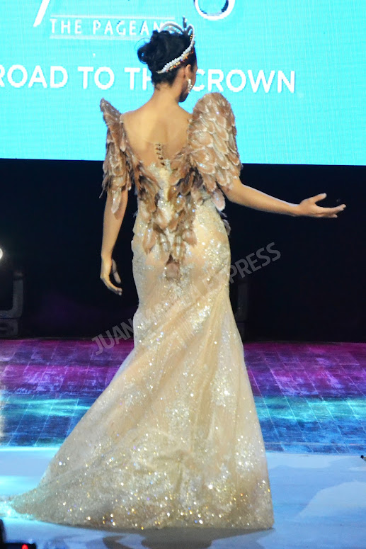BB. PILIPINAS 2016 CANDIDATE NO. 36 MARIA GIGANTE DRESSED BY PHILIPP TAMPUS FOR THE NATIONAL COSTUME COMPETITION