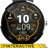 Advanced Watch Face & Clock Widget