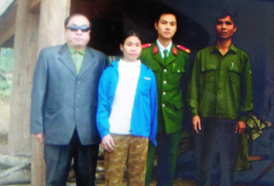 Chị Hoa bình phục trở lại sau khi được Báo Công an Nghệ An hỗ trợ cứu chữa