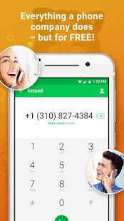 textPlus Free Text + Calls- screenshot thumbnail