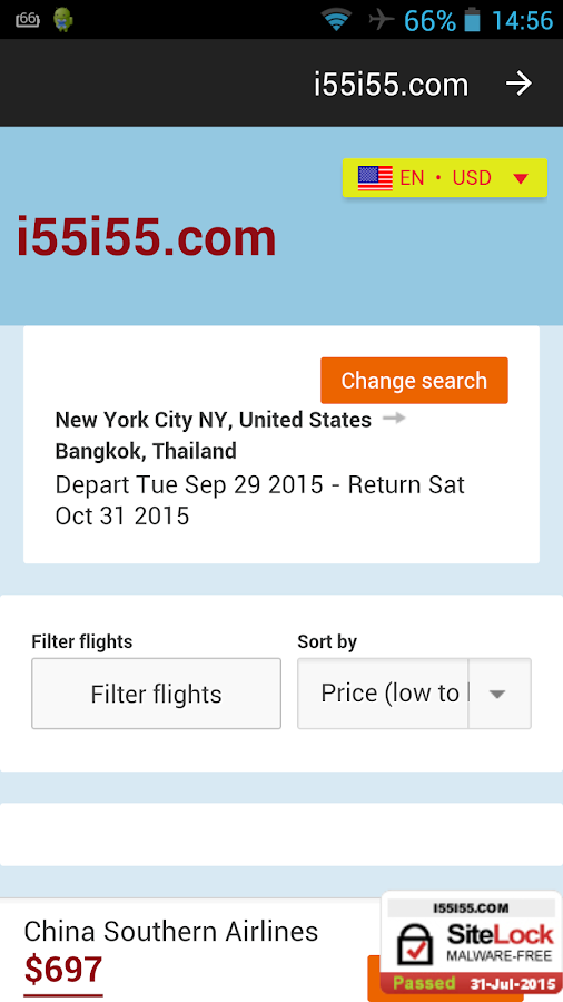 Airline tickets Booking hotel- screenshot