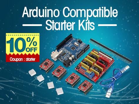 Kits Arduino para iniciantes com super desconto!