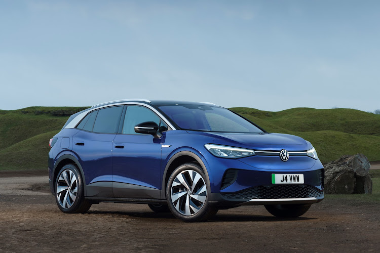 The ID.4 is a fully electric crossover SUV that is expected to go on sale in South Africa next year.
