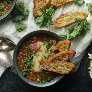 Lentil Soup Recipe with Sausage and Kale