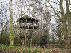 Photo: Paikallinen Tuhnula? Pikkupoikien maja puussa brittityyliin? Hadlow, Kent.