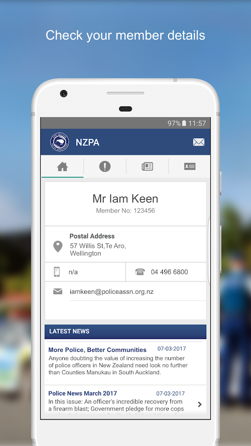NZPA- screenshot